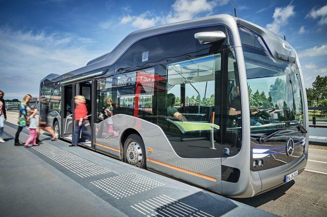 Mercedes Benz Future Bus with CityPilot profile