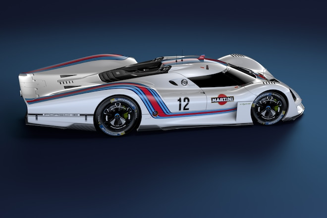 Porsche Vision GT Side Profile 02