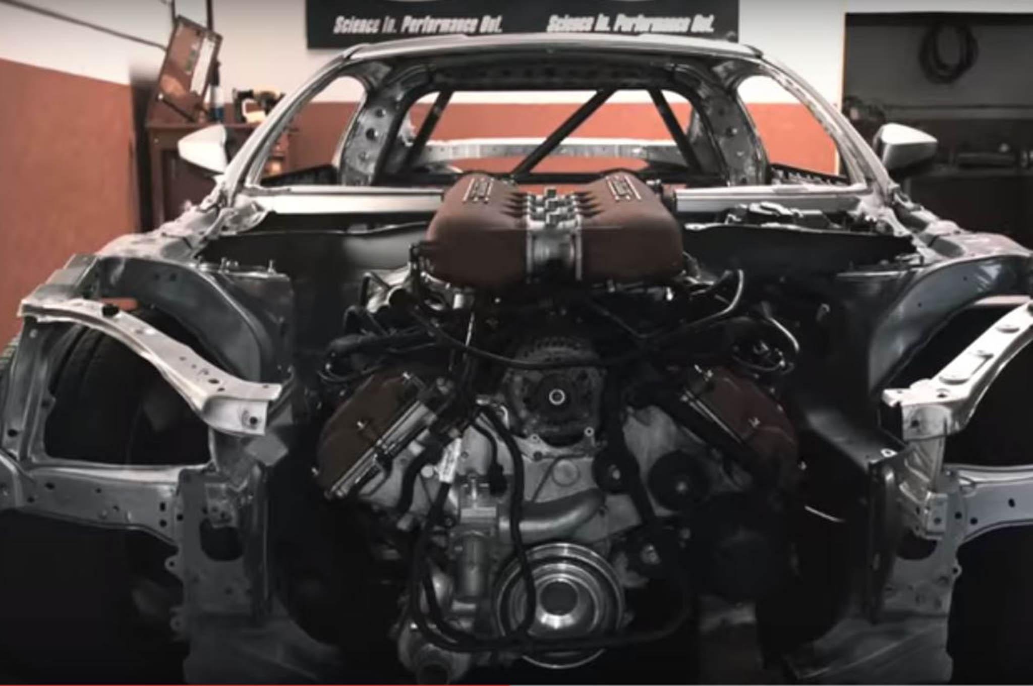 Ryan Tuerck Ferrari Engine Swap