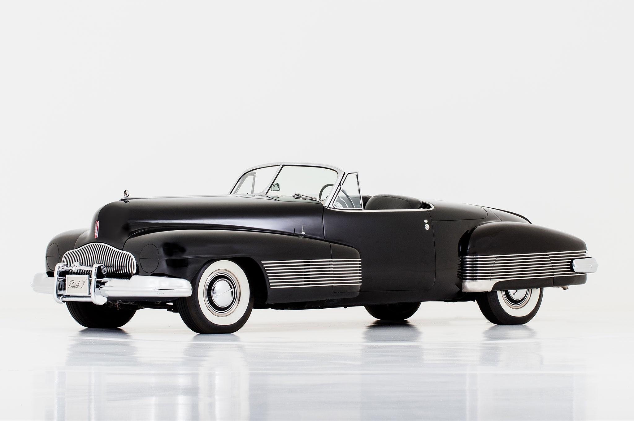 1938 Buick Y Job HVA National Historic Vehicle Register Front Three Quarter
