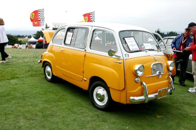 1958 Fiat 600 Multipla 2016 Concorso Italiano