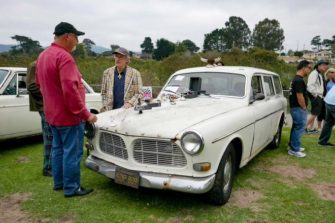 1966 Volvo 122 Wagon 2016 Concours dLemons Front Three Quarter