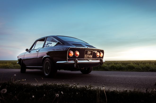 1969 Fiat 850 Sport Petrolicious rear three quarters