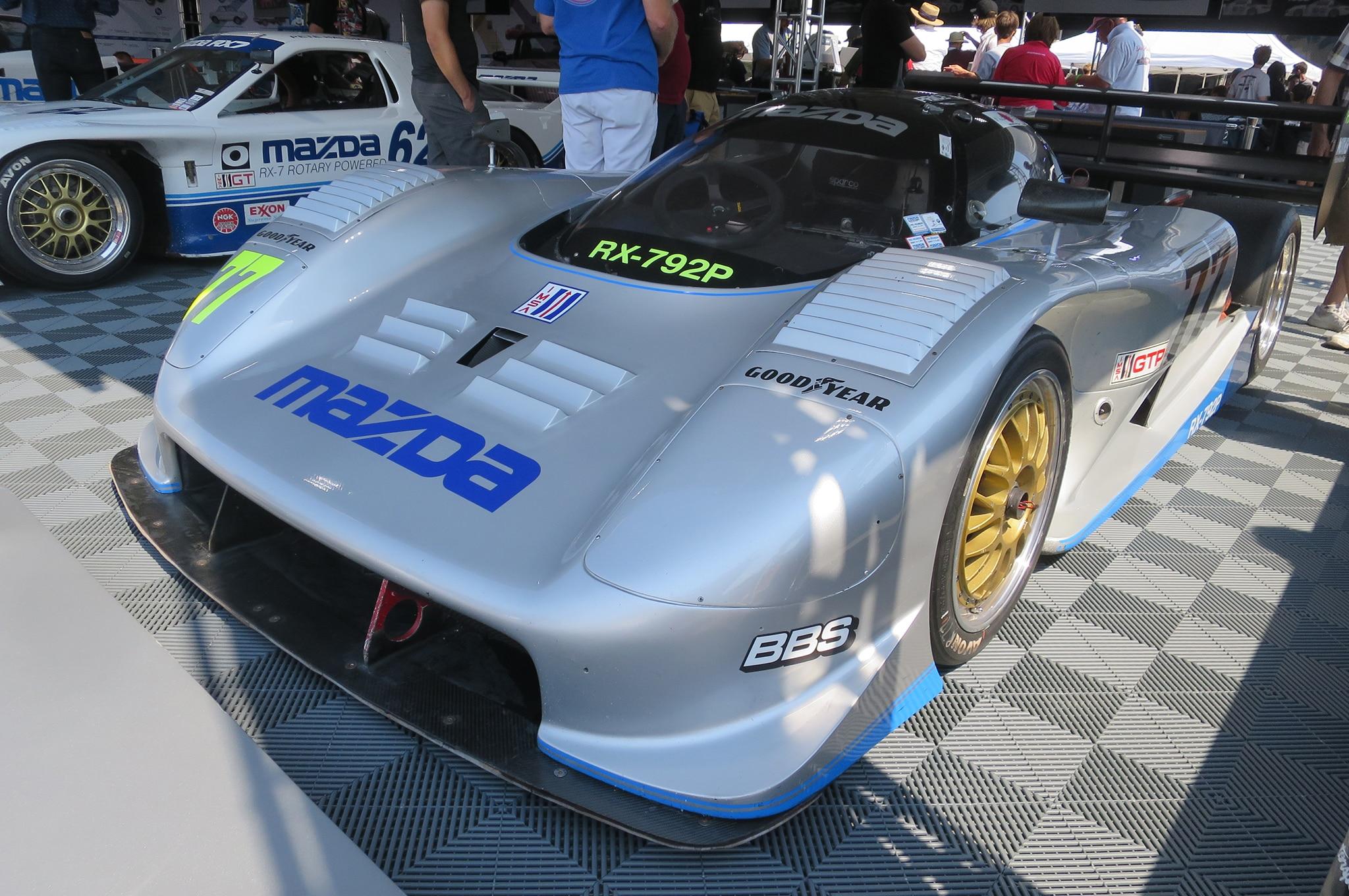 1991 Mazda RX 7 IMSA GTP front three quarters