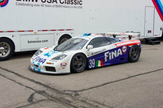 1996 McLaren F1 GTR Powered by BMW