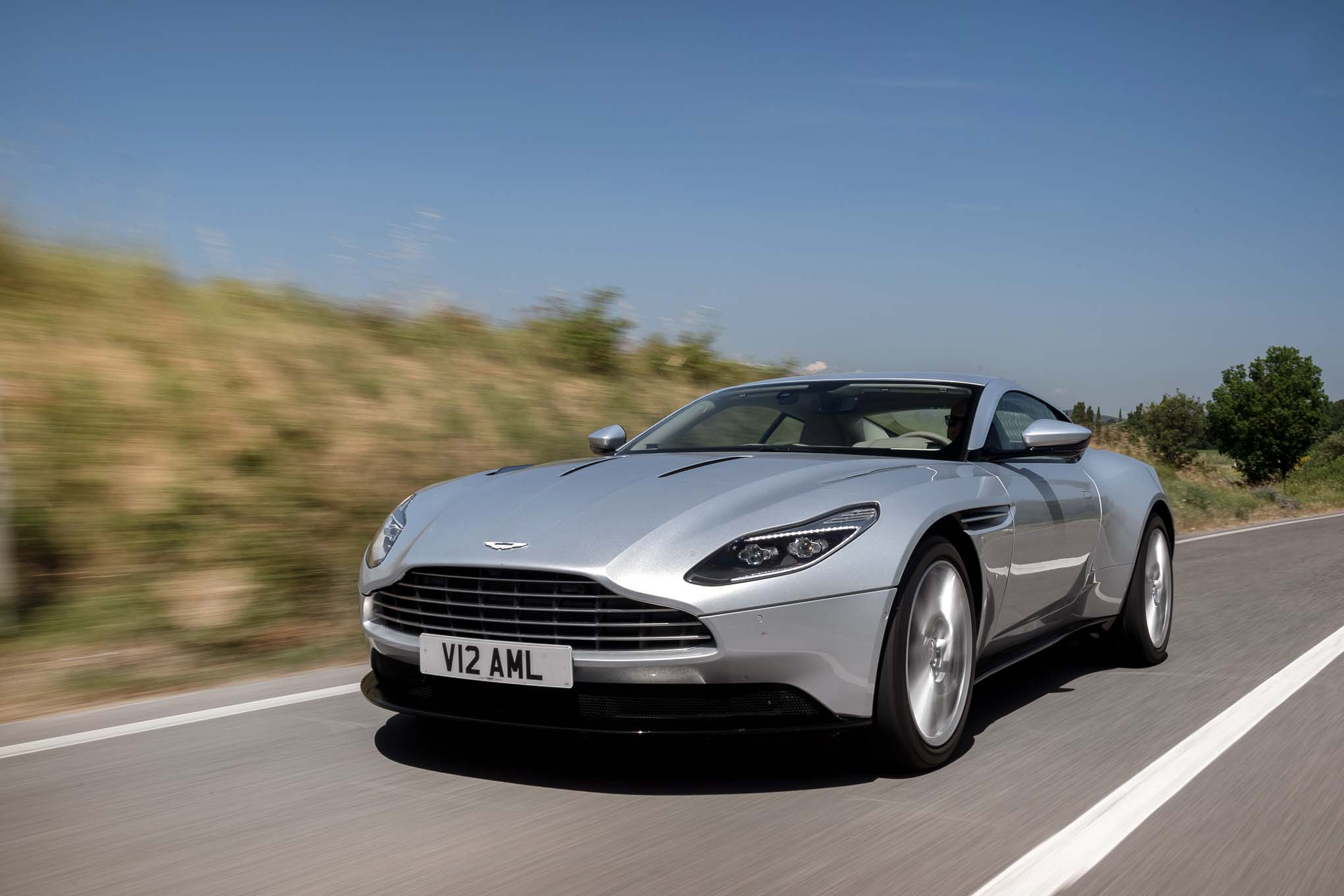 2017 Aston Martin DB11 Front Three Quarter In Motion 04 1