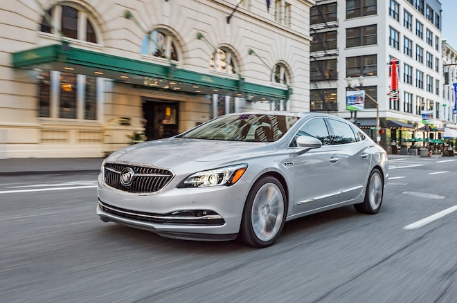 2017 Buick LaCrosse Front Three Quarters In Motion