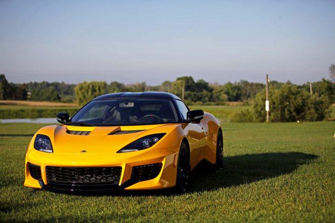2017 Lotus Evora 400 front end