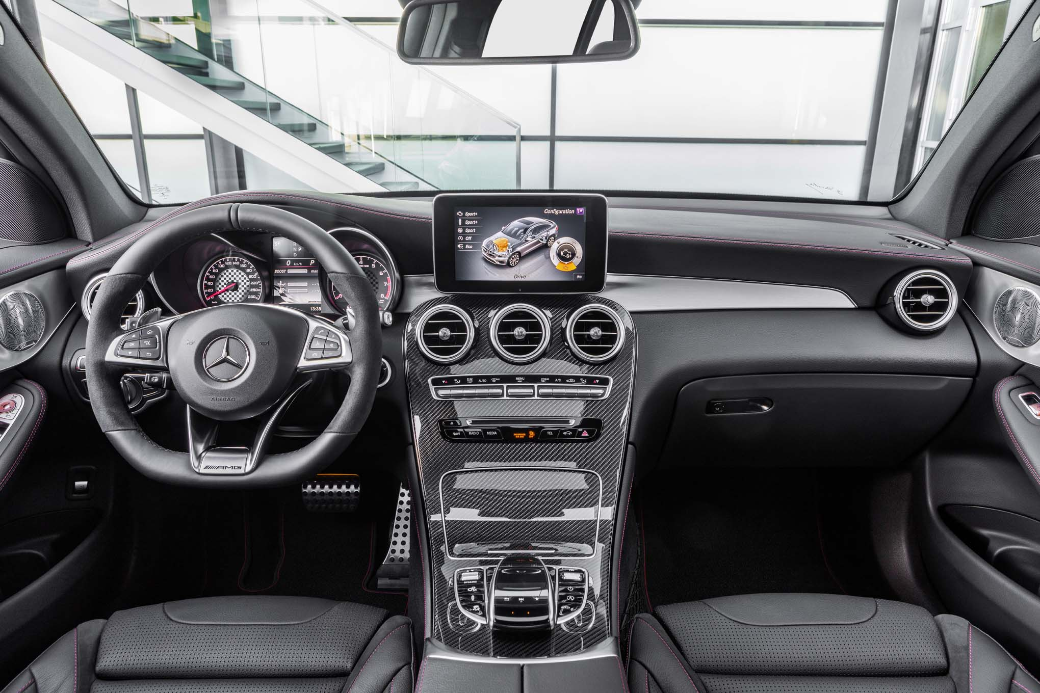 One Week With 2017 Mercedes Amg Glc43 Coupe Automobile Magazine