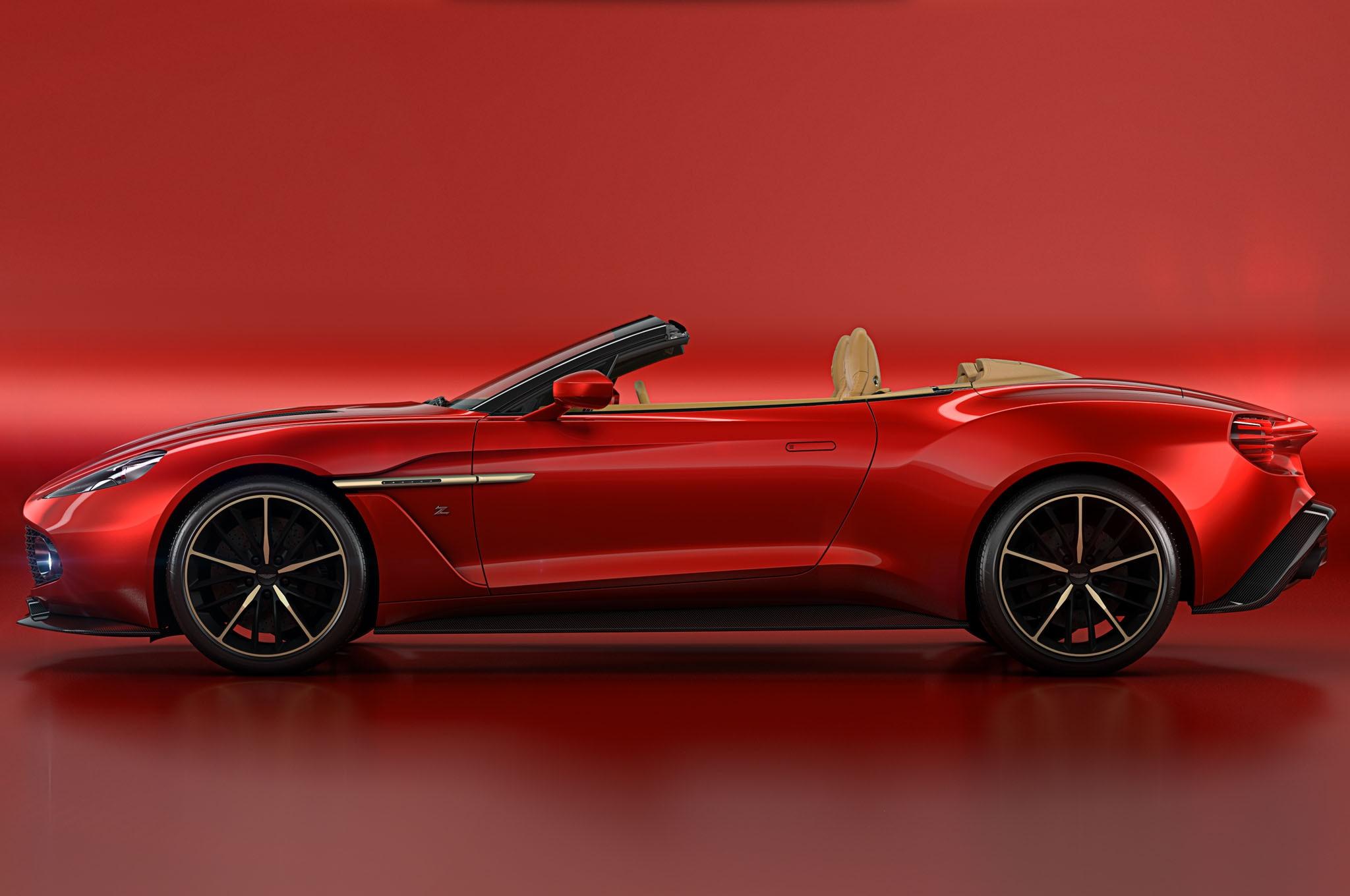 Aston Martin Vanquish Zagato Volante Priced From - Aston martin zagato price