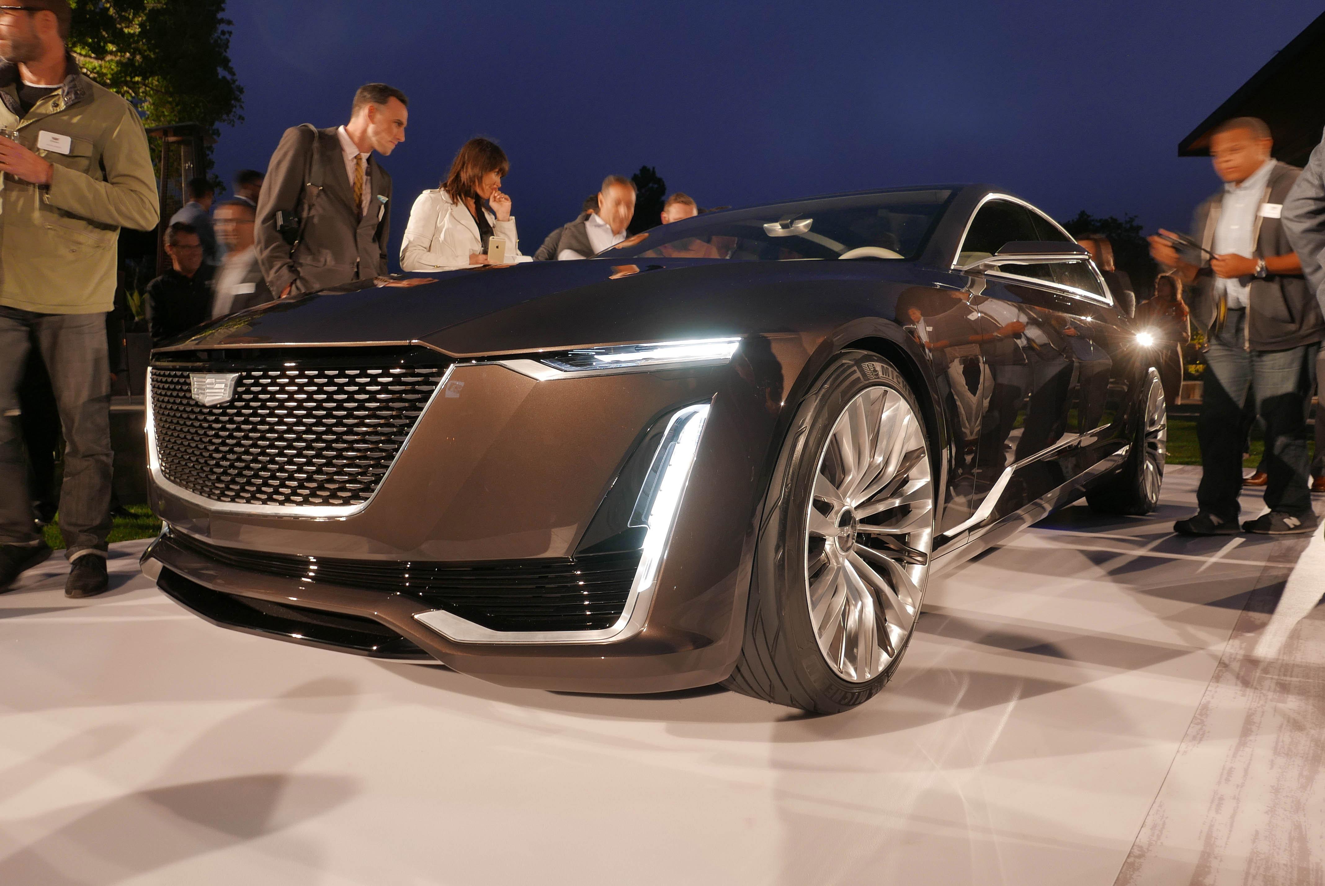 Cadillac Escala Concept Front Three Quarter