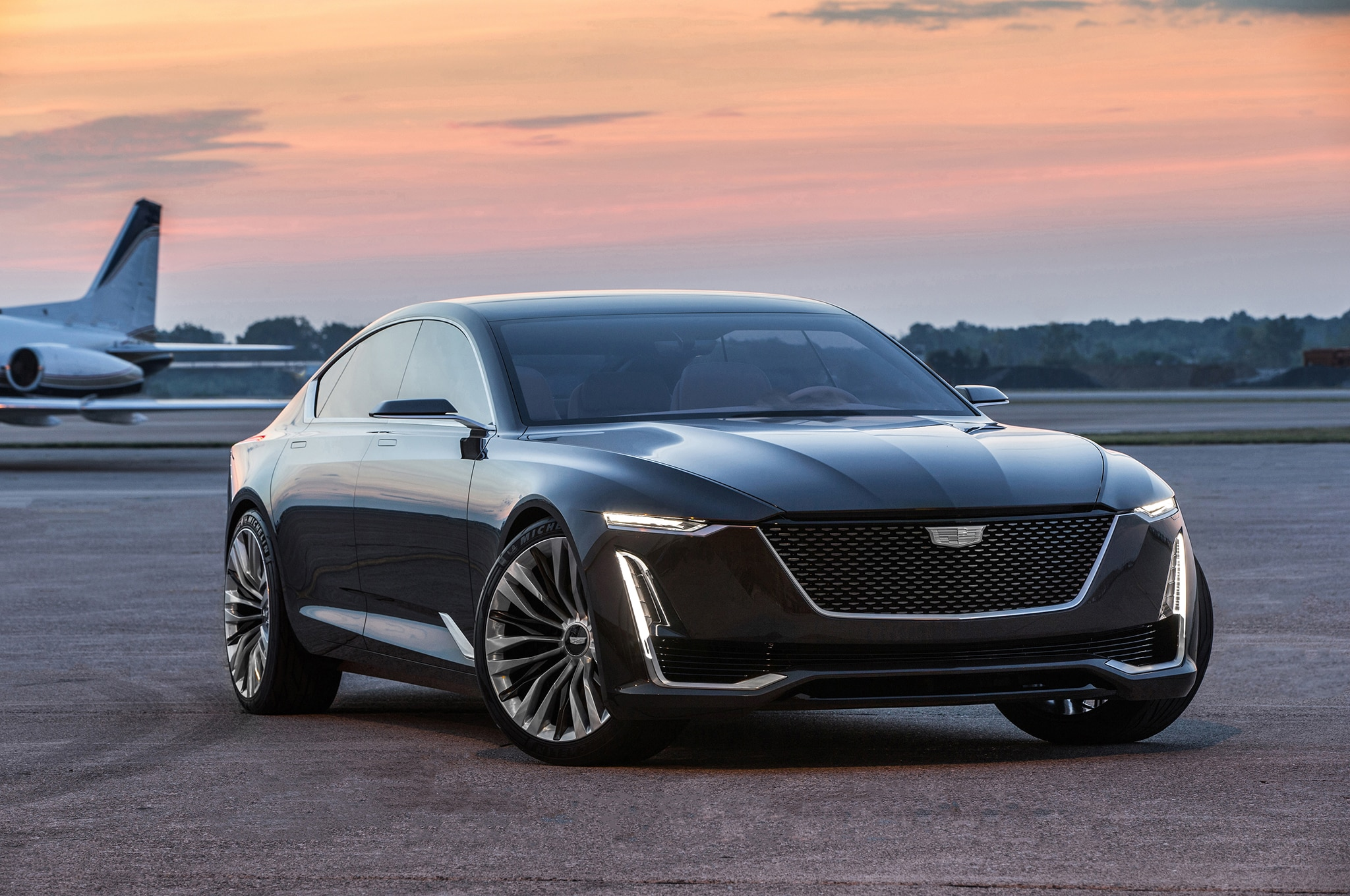 Cadillac Escala Concept Debut Photos and Information ...