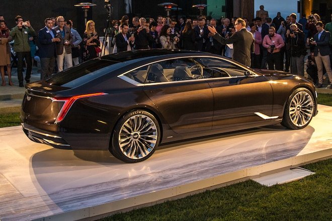 Cadillacs Future Design Highlighted In Escala Concept Automobile