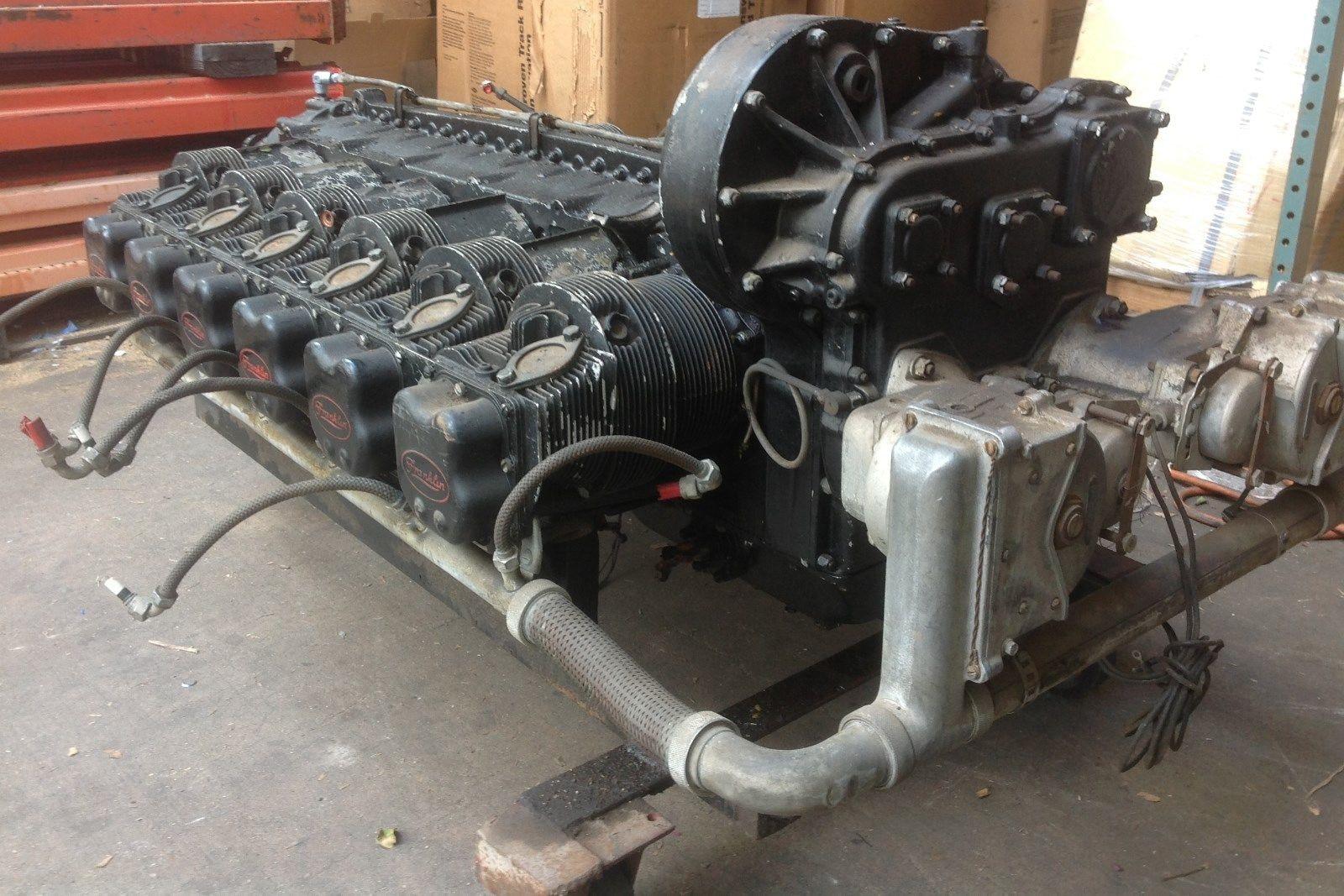 Just Listed Franklin 0 805 Air Cooled Flat Twelve Engine