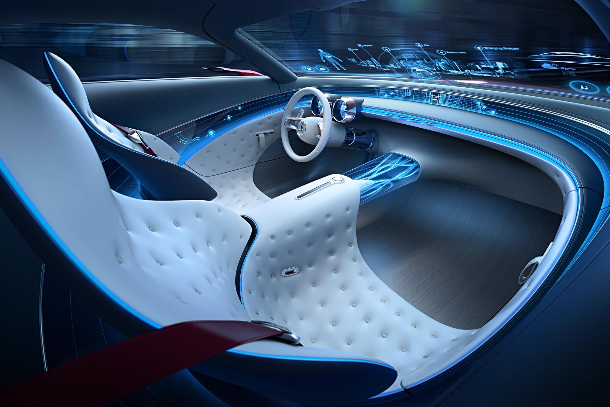 vision mercedes-maybach 6 concept stuns at pebble beach | automobile