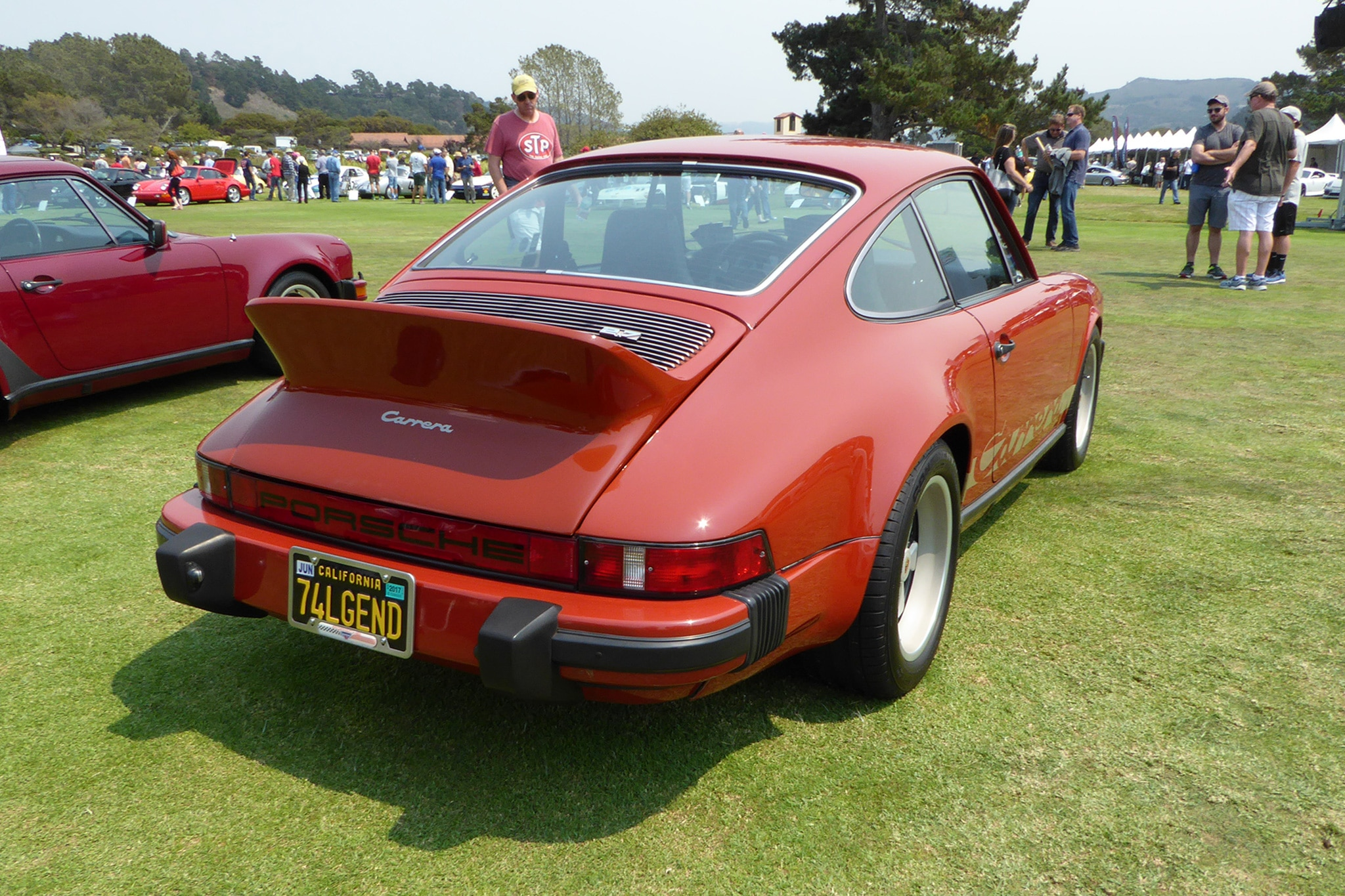 Porsche 911 Carrera Rear Three Quarter