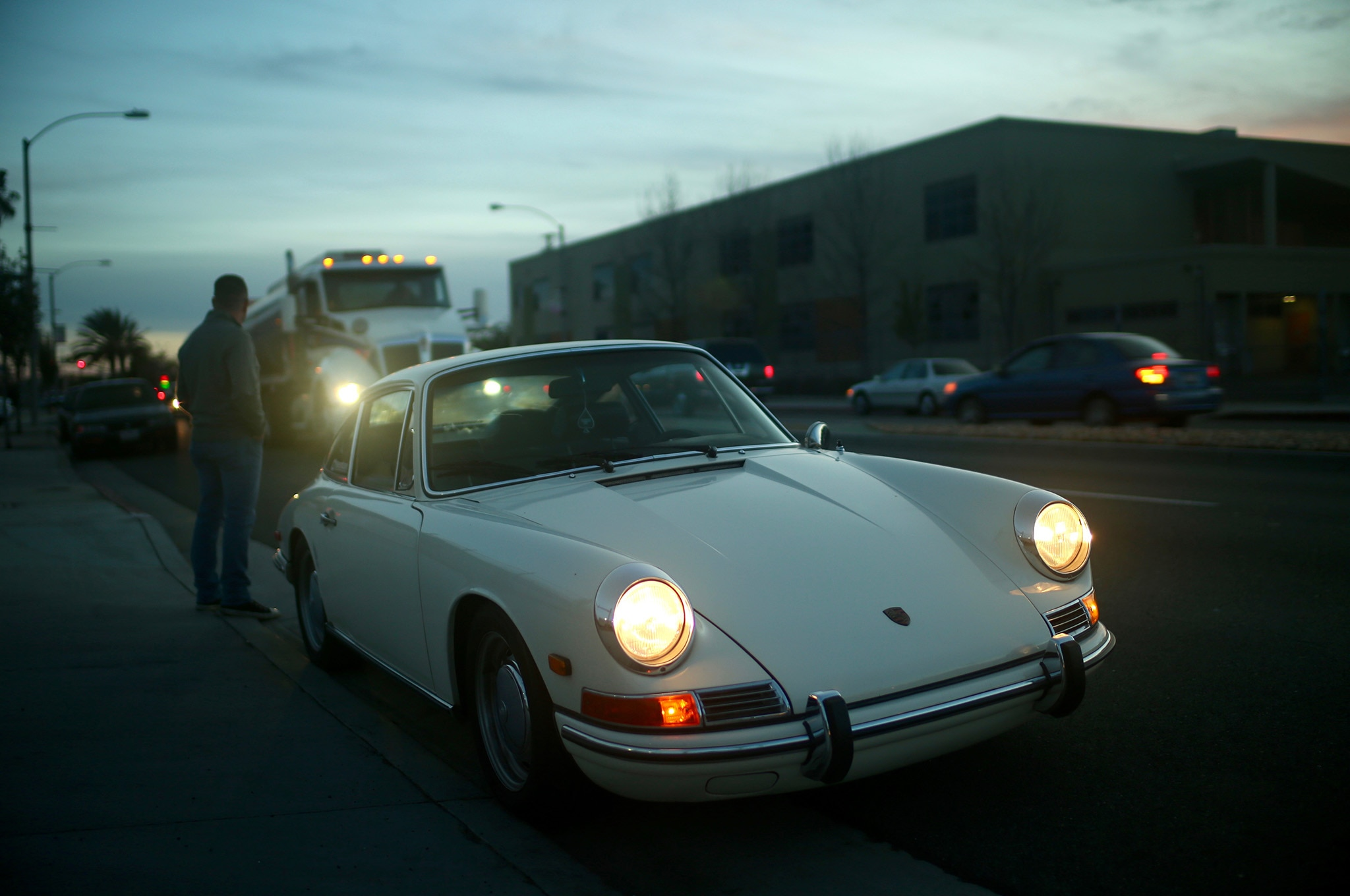 Porsche 912 Benton Petrolicious Front Three Quarters