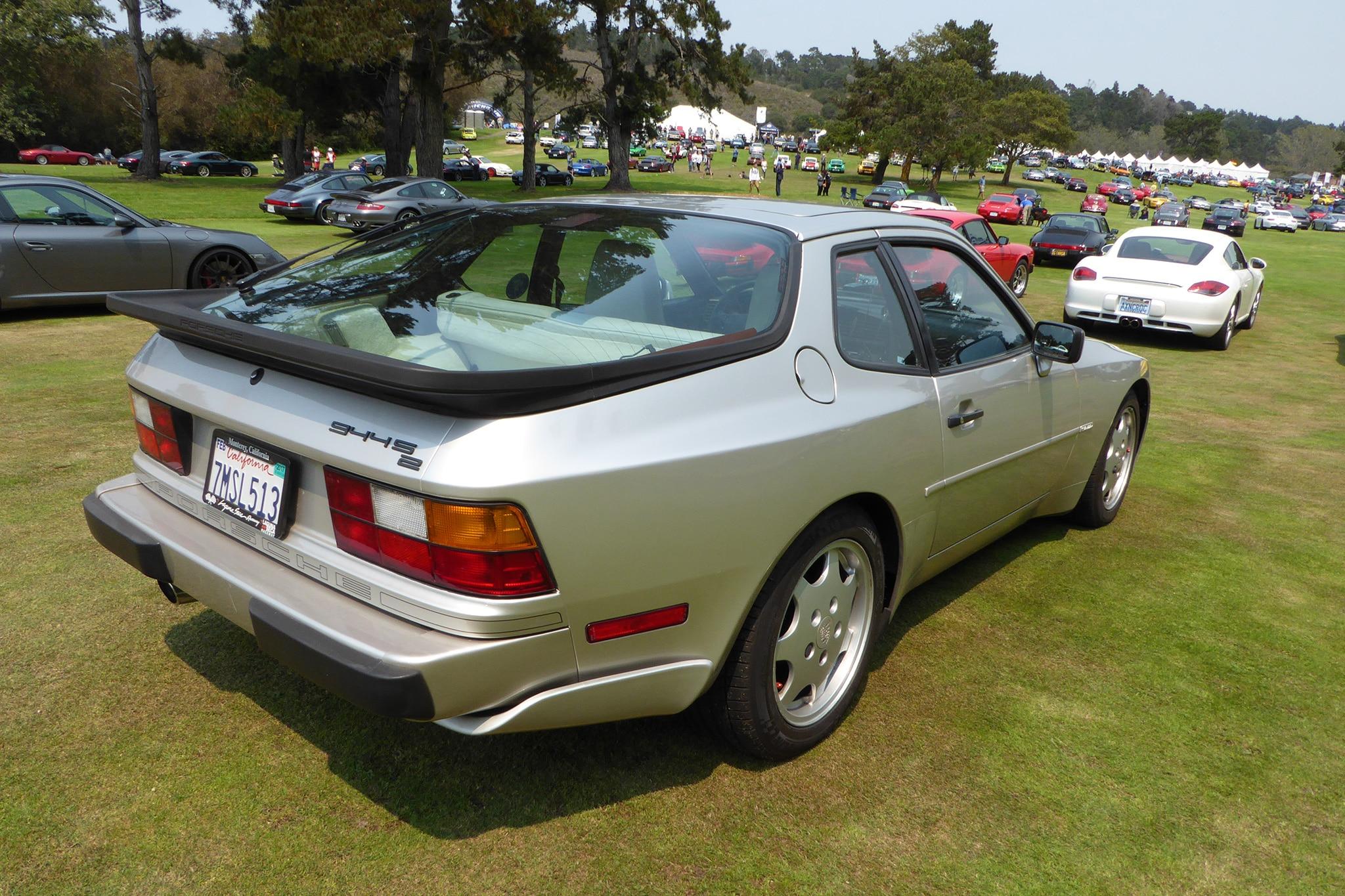 Porsche 944s2 Rear Three Quarter