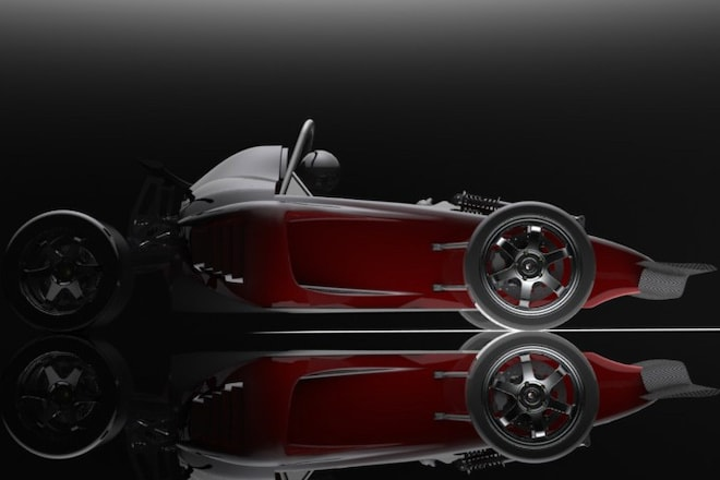 Scorpion Motorsport's Prodigy is a Three-Wheeler for