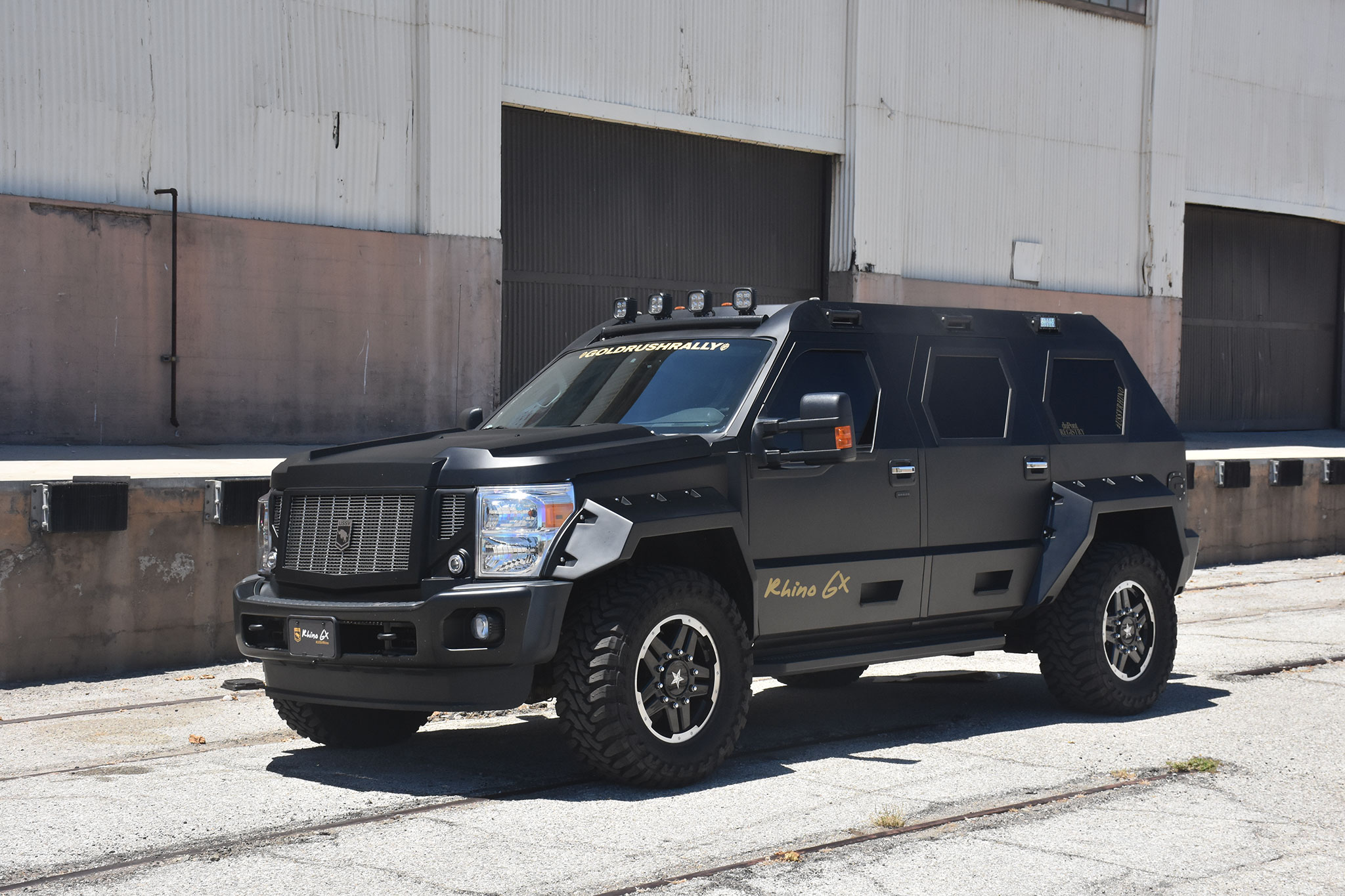 8 Passenger Suv >> The 2016 USSV Rhino GX is for the Dictator in All of Us | Automobile Magazine