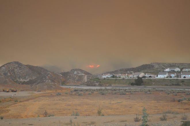 Santa Clarita fire 05
