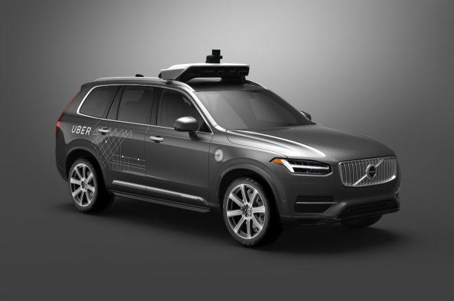 Volvo XC90 Uber Autonomous Vehicle