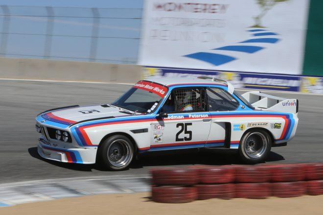 bmw 30csl race car monterey motorsports reunion