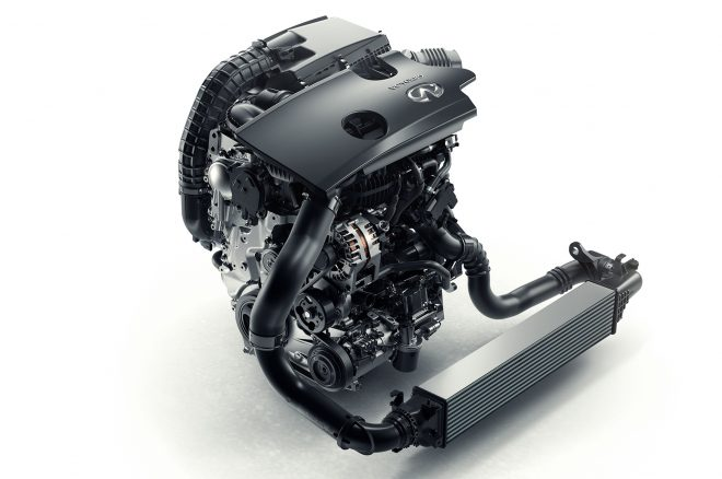 infiniti vct engine side view