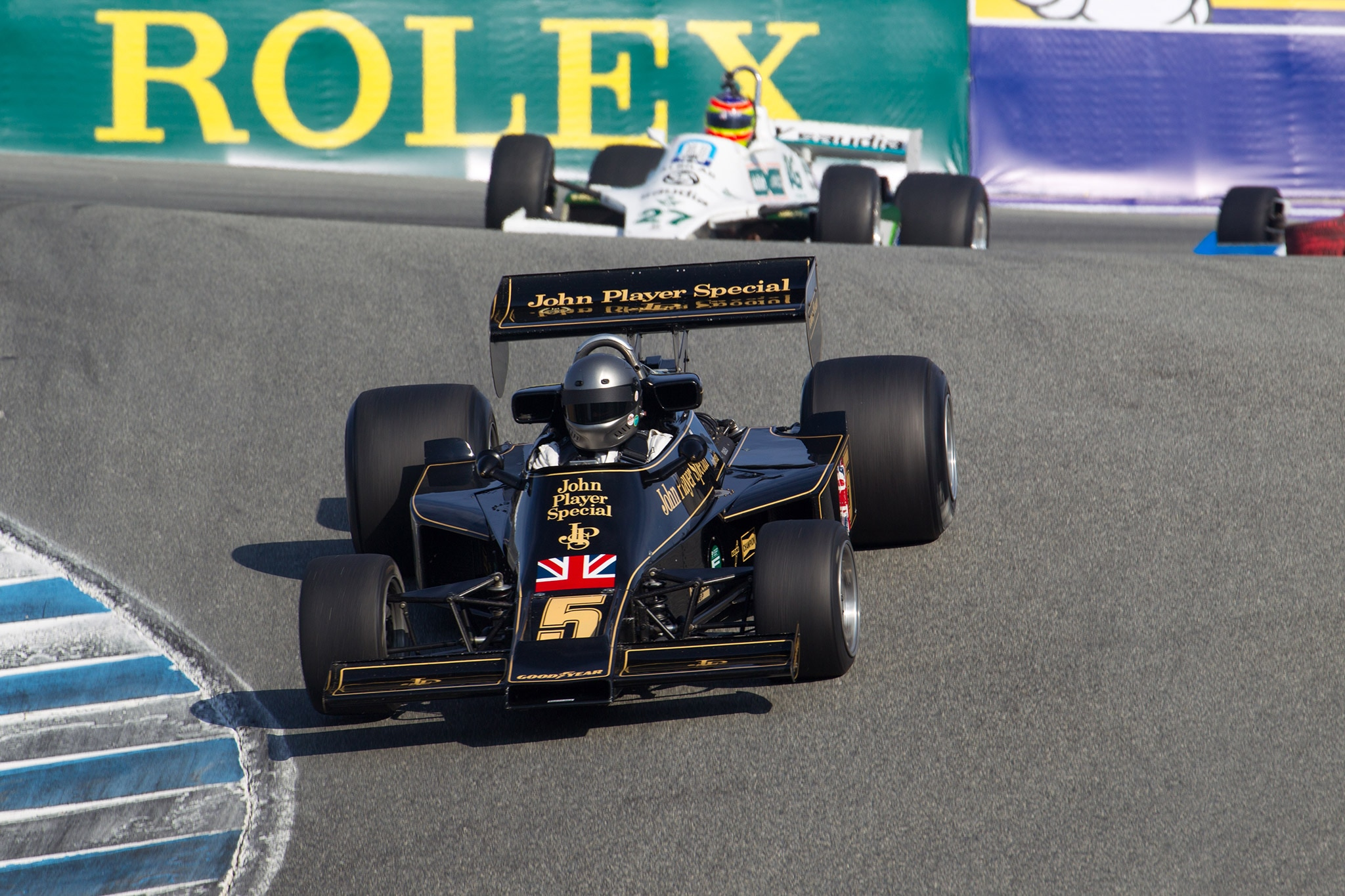 Lotus 77 And Williams Monterey Motorsports Reunion