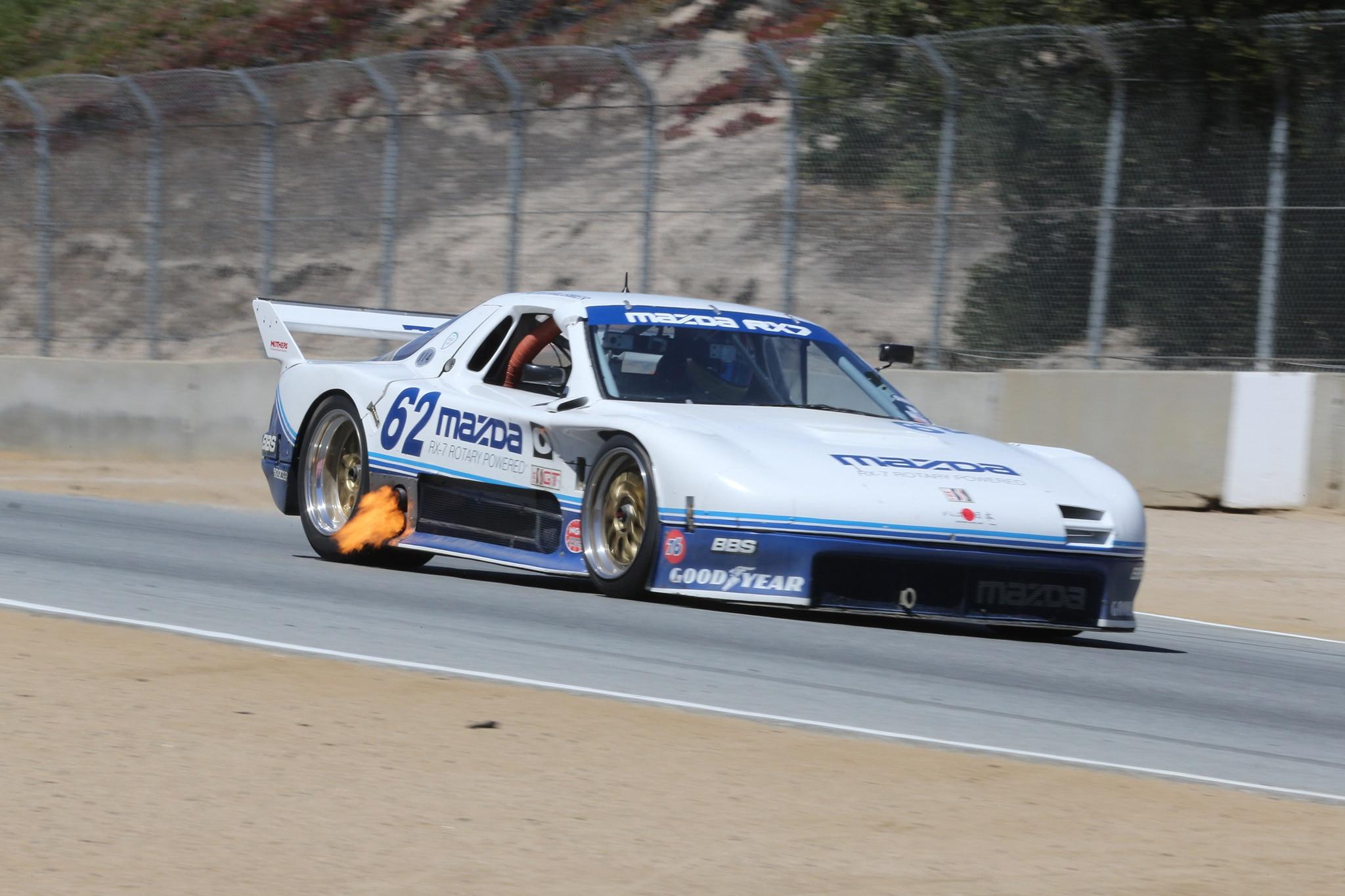 A Video Ride Around Laguna Seca in a Mazda IMSA RX-7 GTO ...
