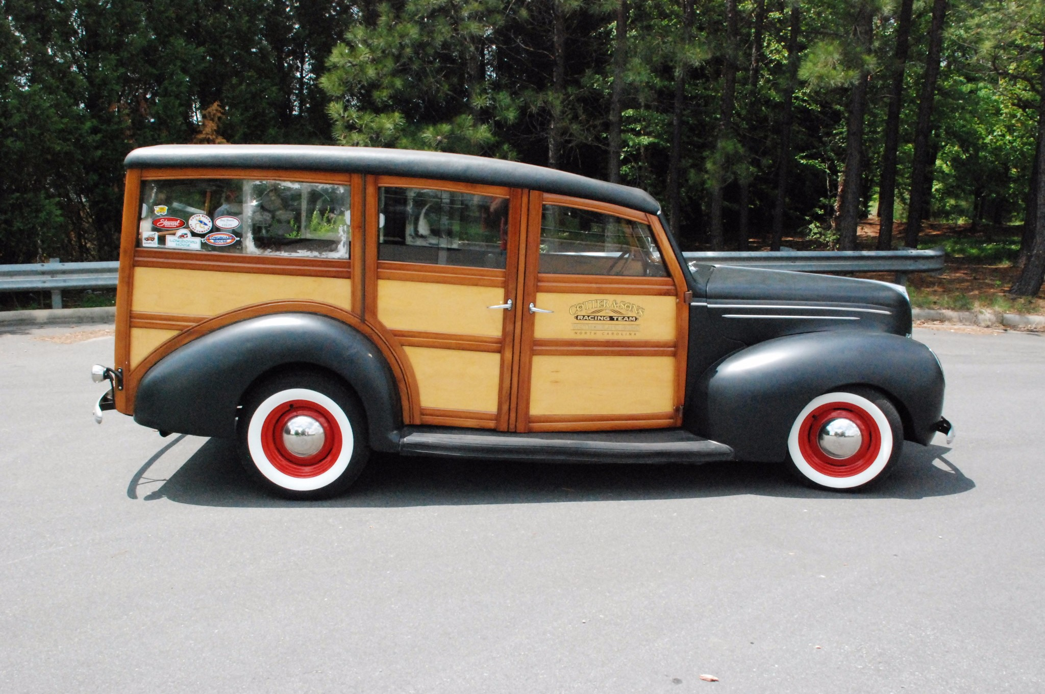 Just Listed: 1939 Ford Deluxe Woodie Station Wagon is the Perfect ...