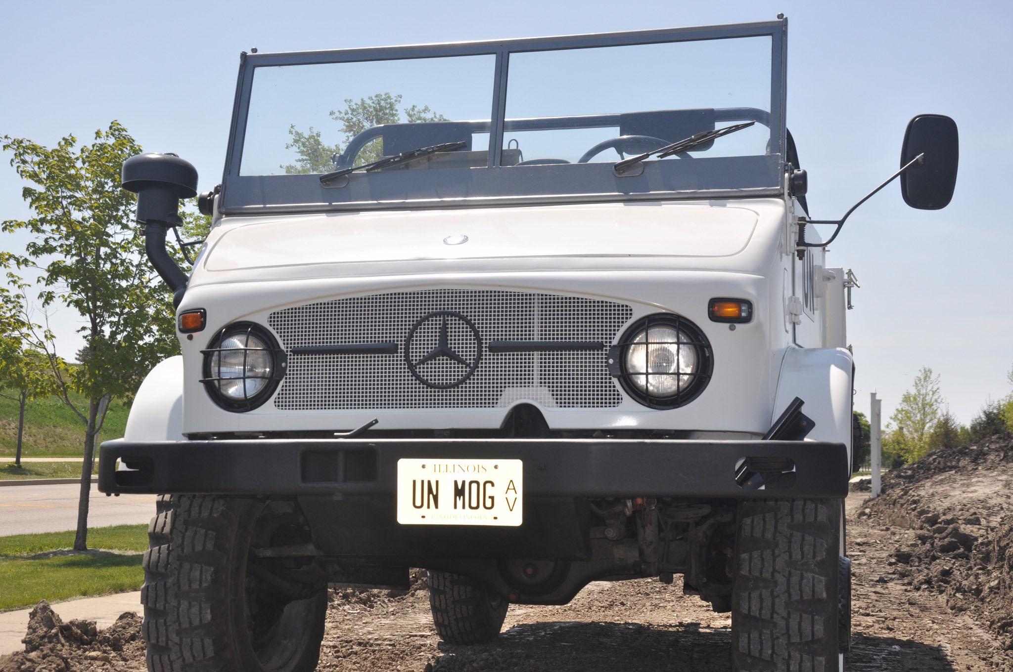 Just Listed: 1971 Mercecedes-Benz Unimog S 404 1 | Automobile Magazine