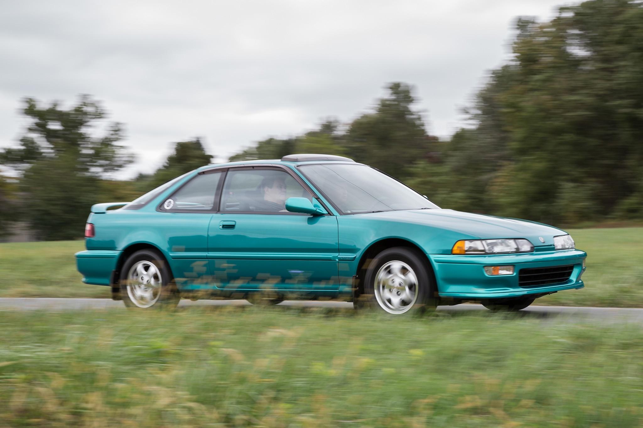 Acura Integra Gs R Front Three Quarter In Motion on 1992 Acura Integra Gsr