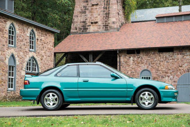 1992 Acura Integra GS R Side Profile