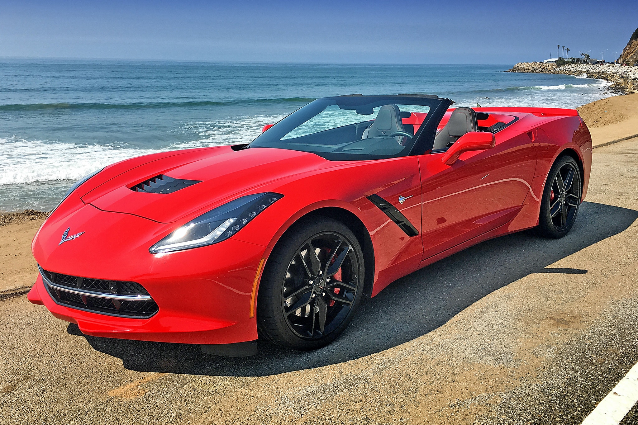 Chevrolet Corvette Convertible Z Front Three Quarter