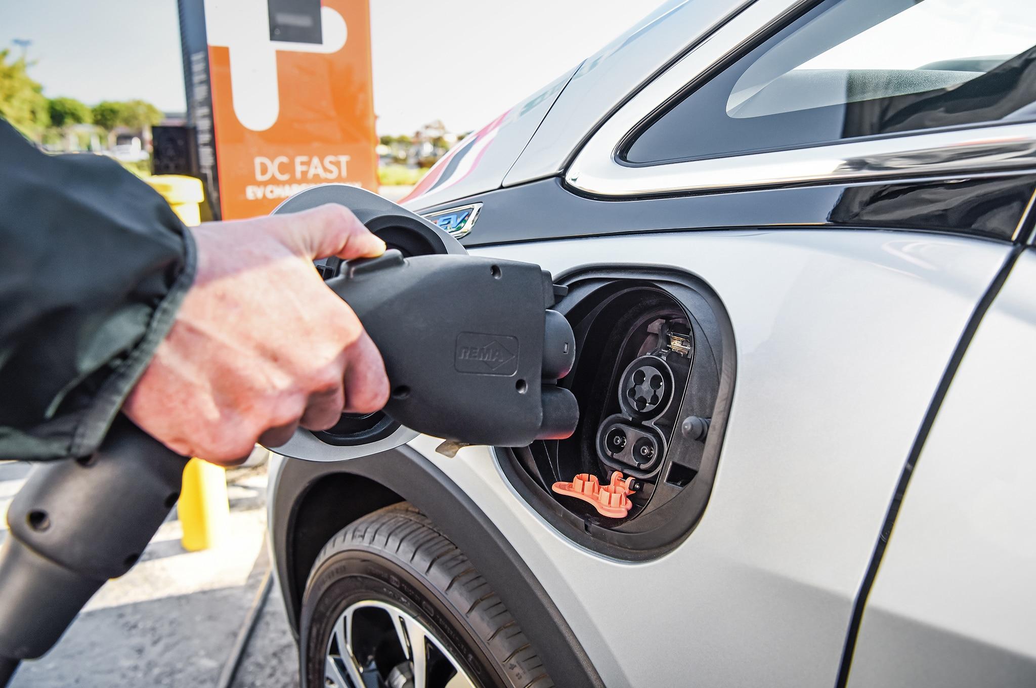 2017 Chevrolet Bolt EV Charge Port
