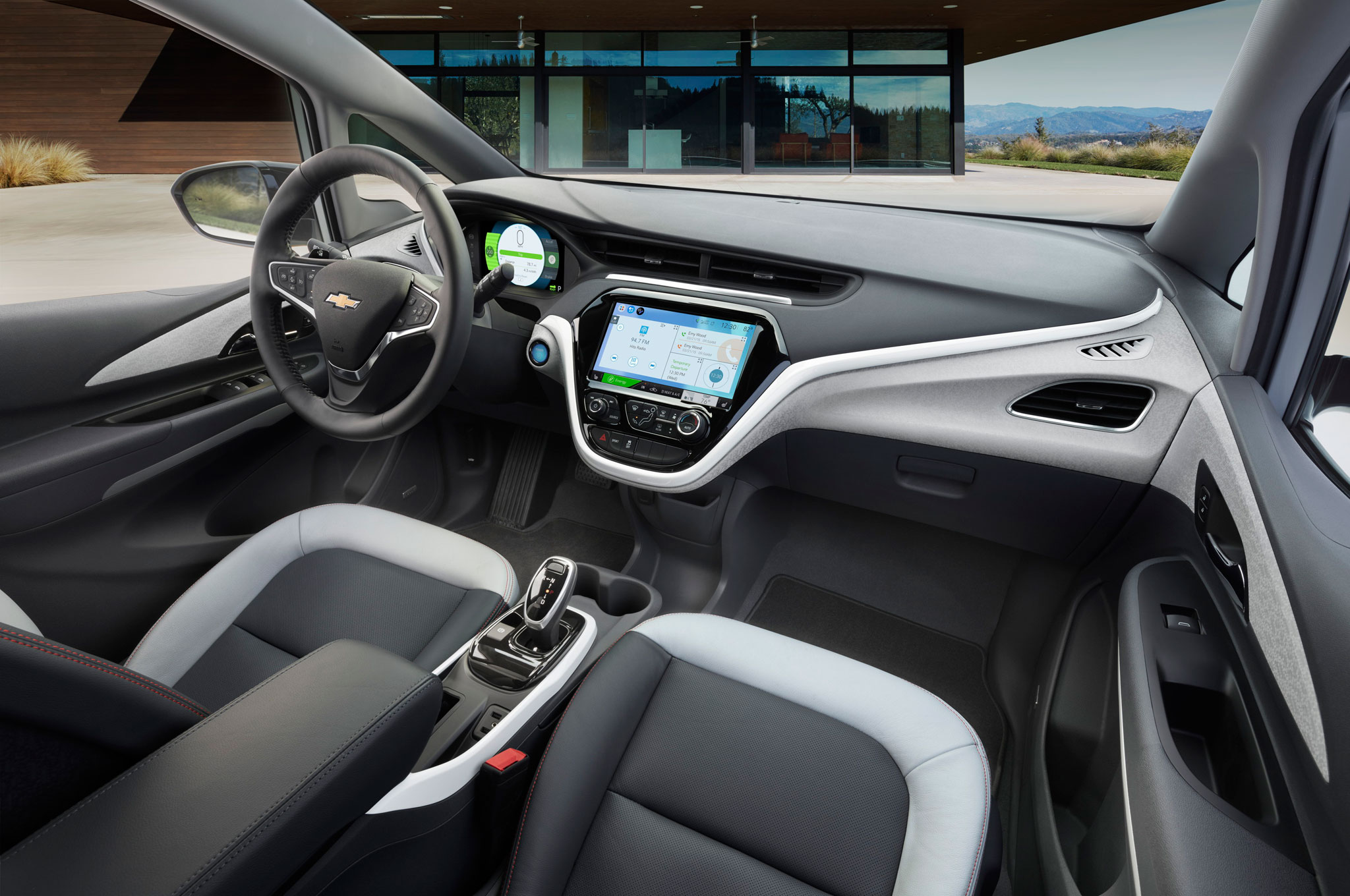 2017 Chevrolet Bolt EV interior