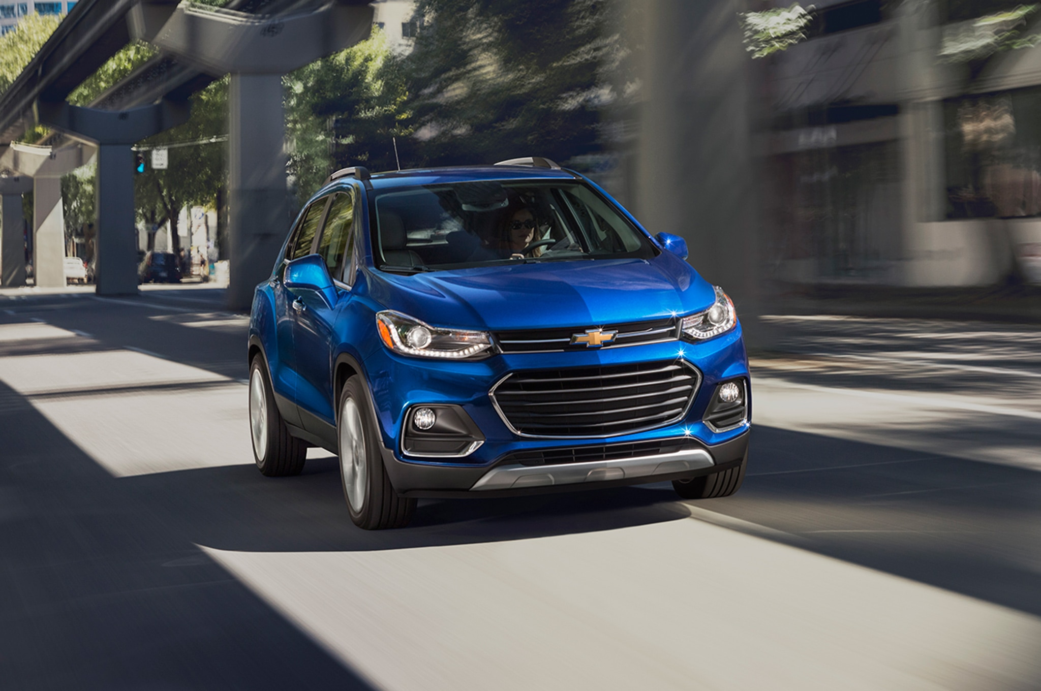 2017 Chevrolet Trax Front End In Motion