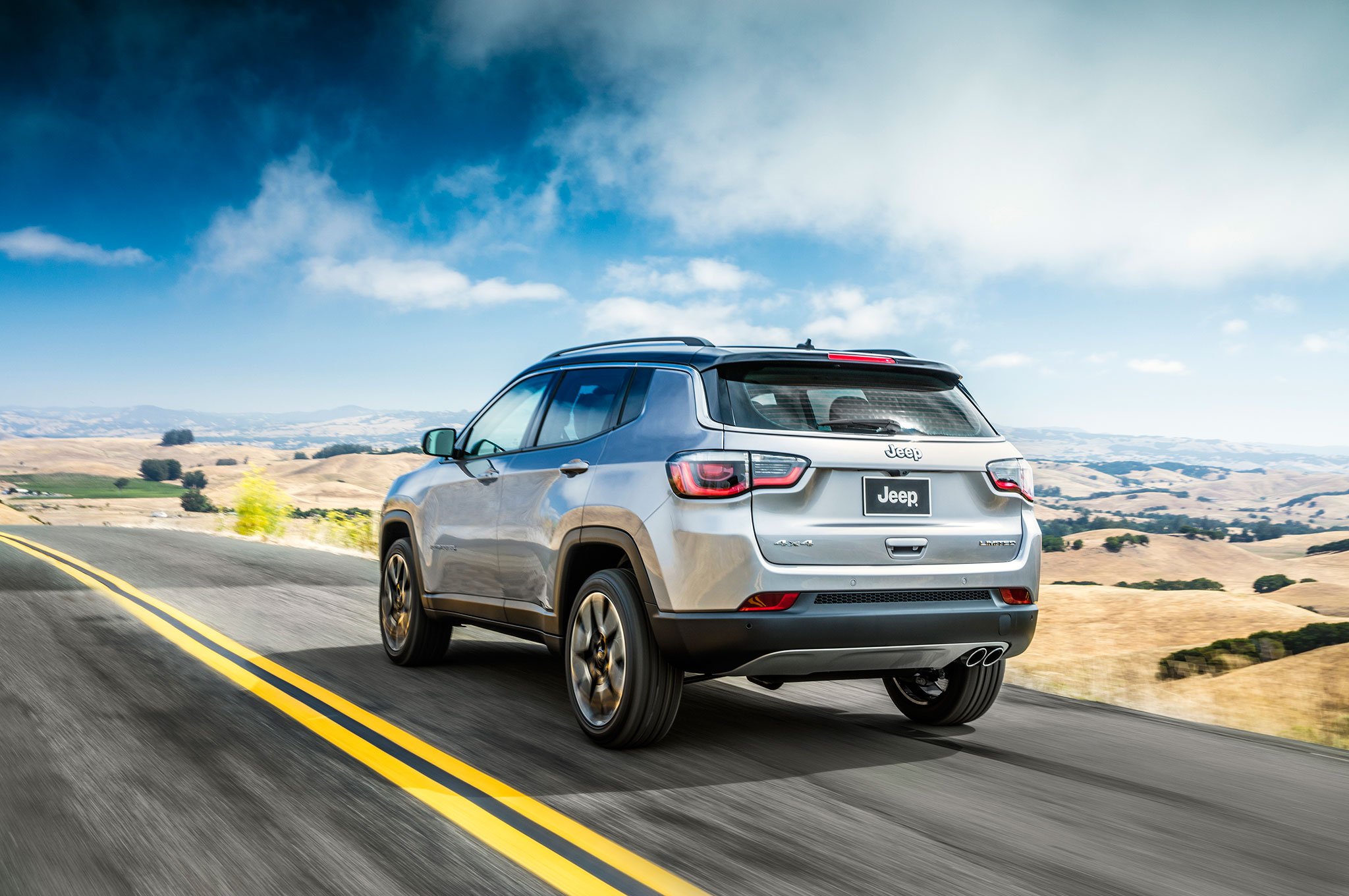 Next-Gen Jeep Compass Debuts in Brazil With New Look