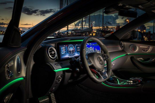 2017 Mercedes AMG E43 sedan cabin 03