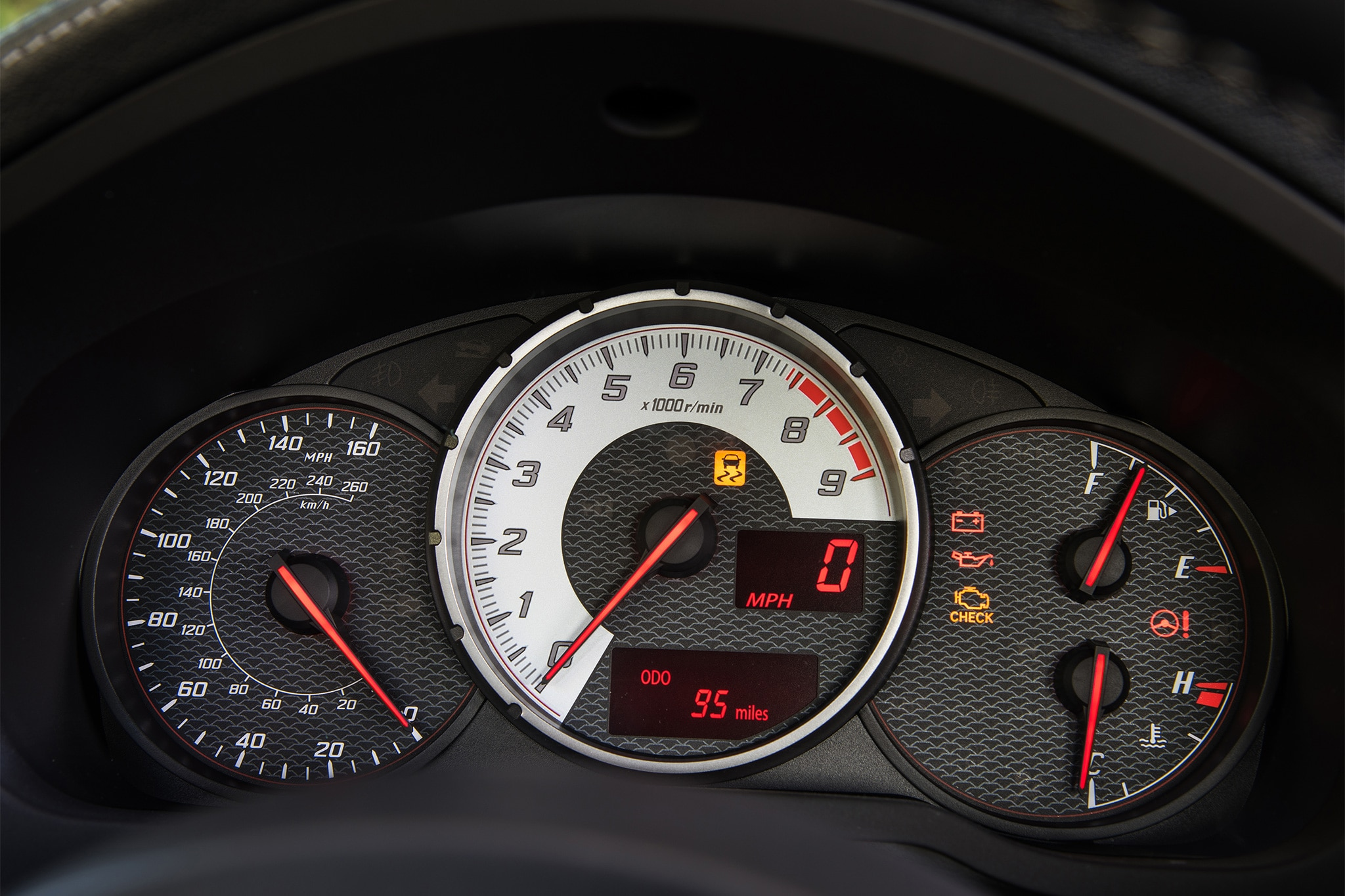 2017 Toyota 86 instrument panel