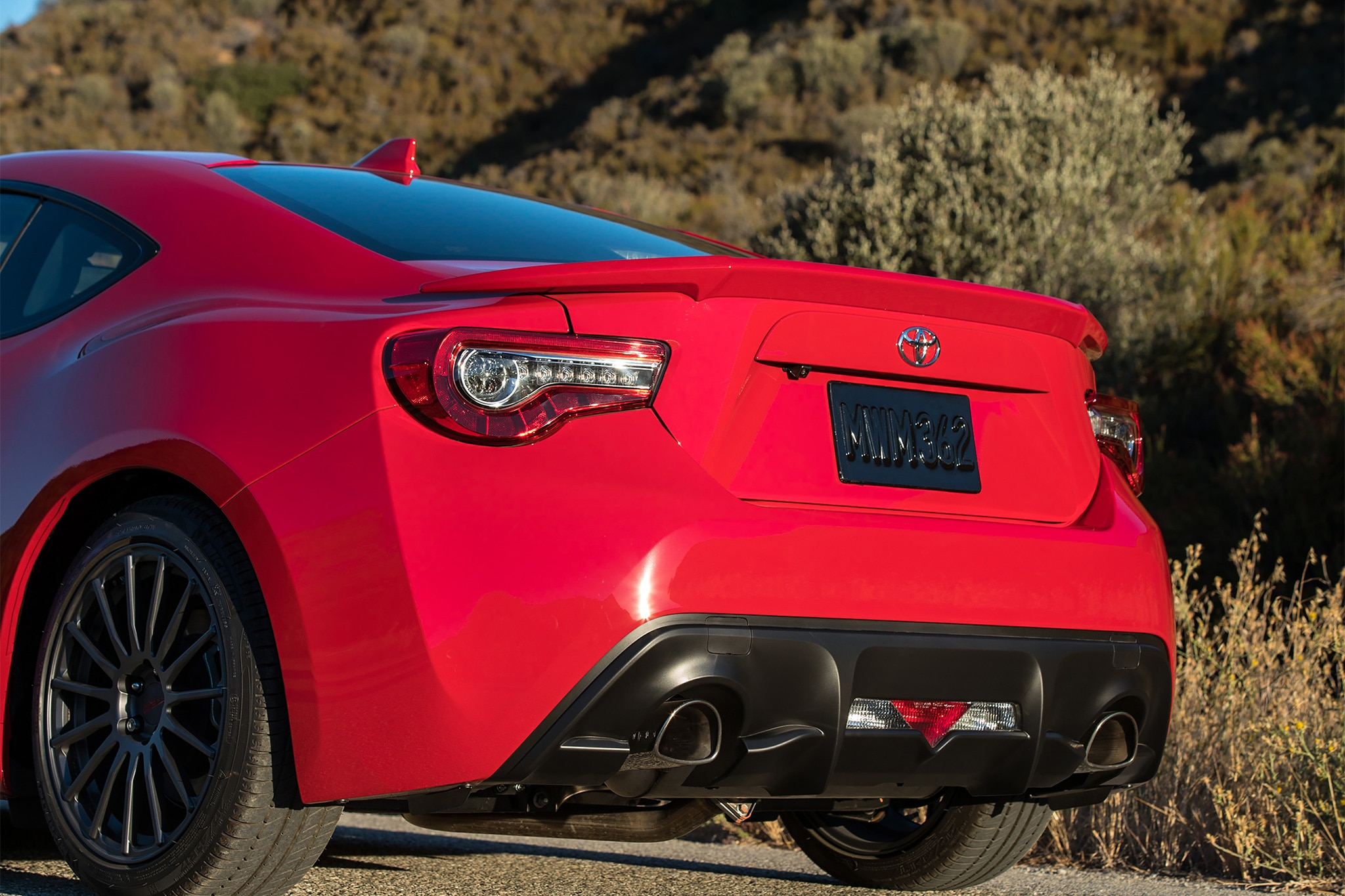 2017 Toyota 86 rear end
