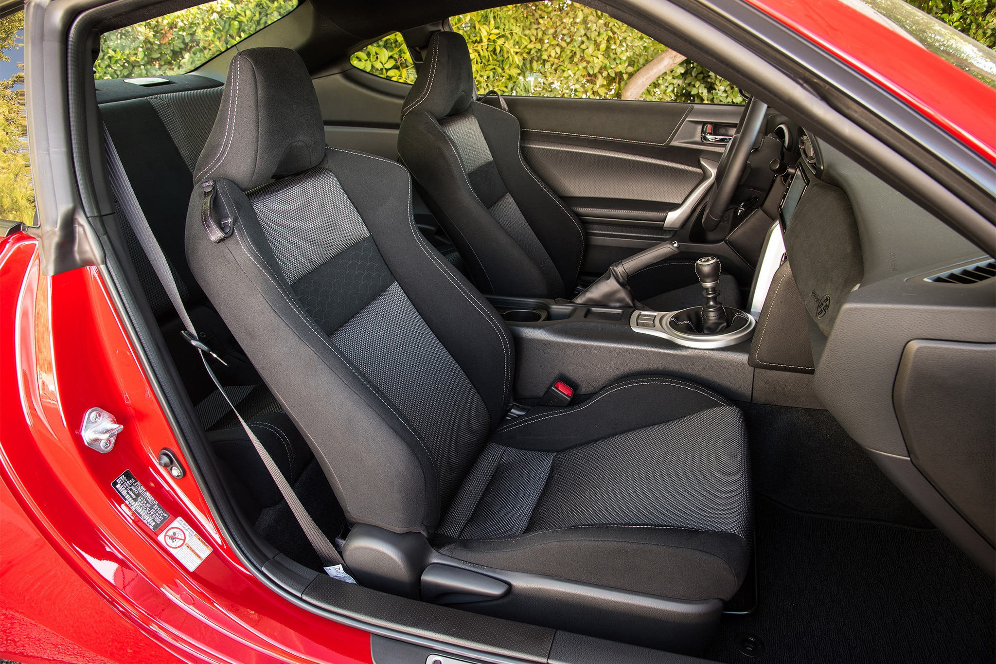 2017 Toyota 86 seats