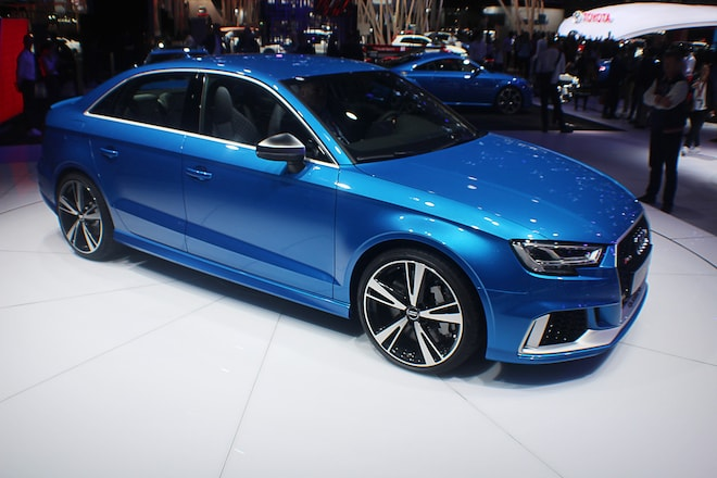 2018 Audi RS 3 Sedan Front Three Quarter