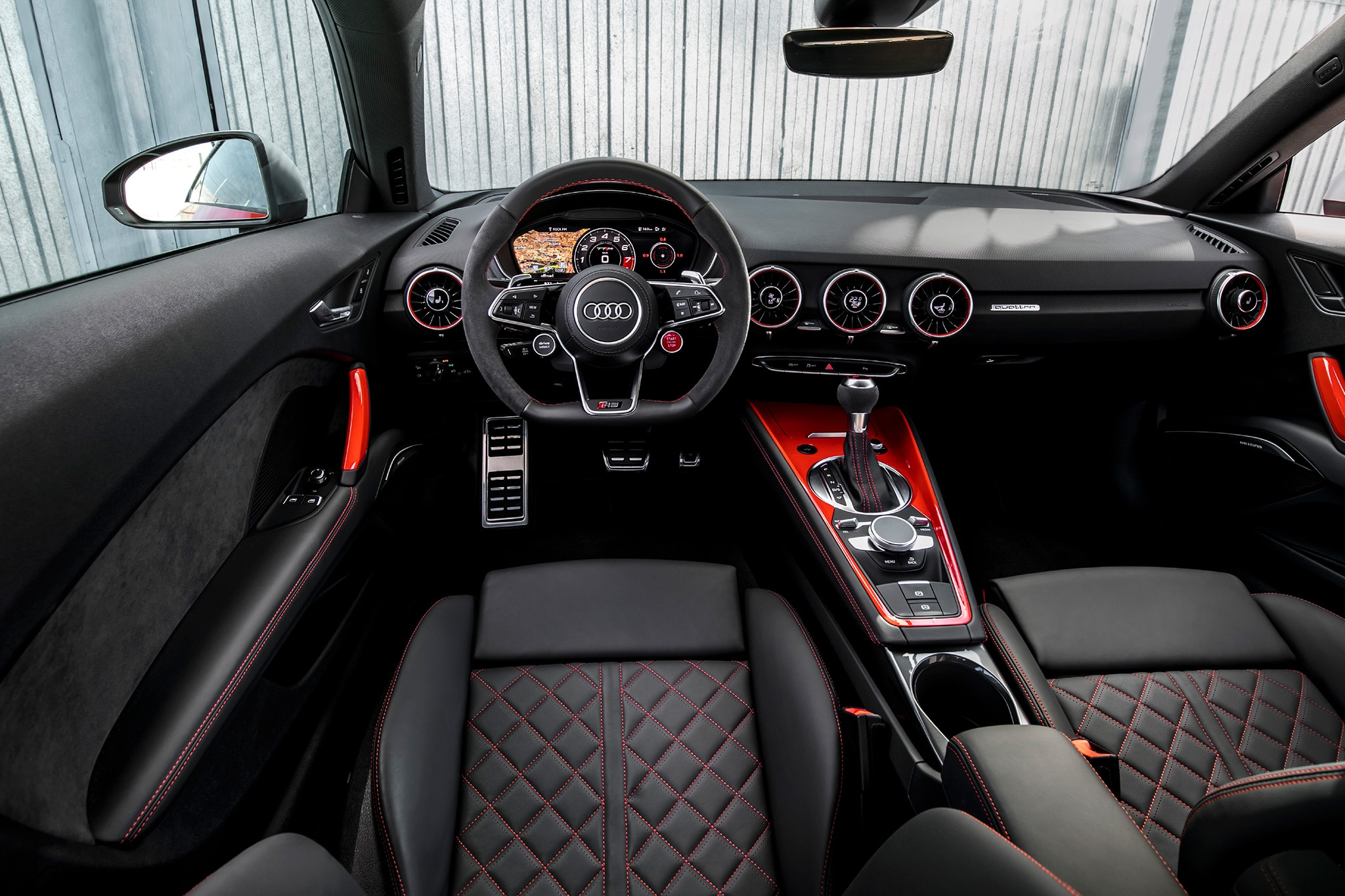 First Drive 2018 Audi Tt Rs Coupe Automobile Magazine