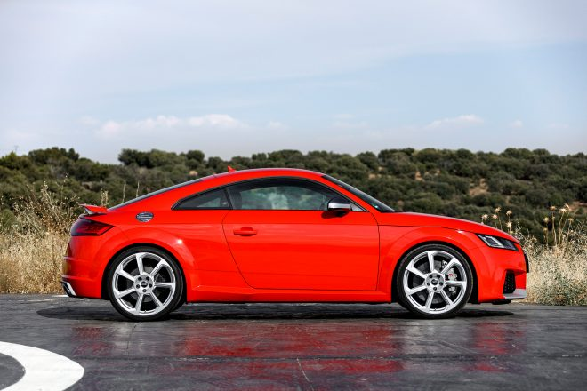 First Drive Audi TT RS Coupe Automobile Magazine - Audi 2 door sports car