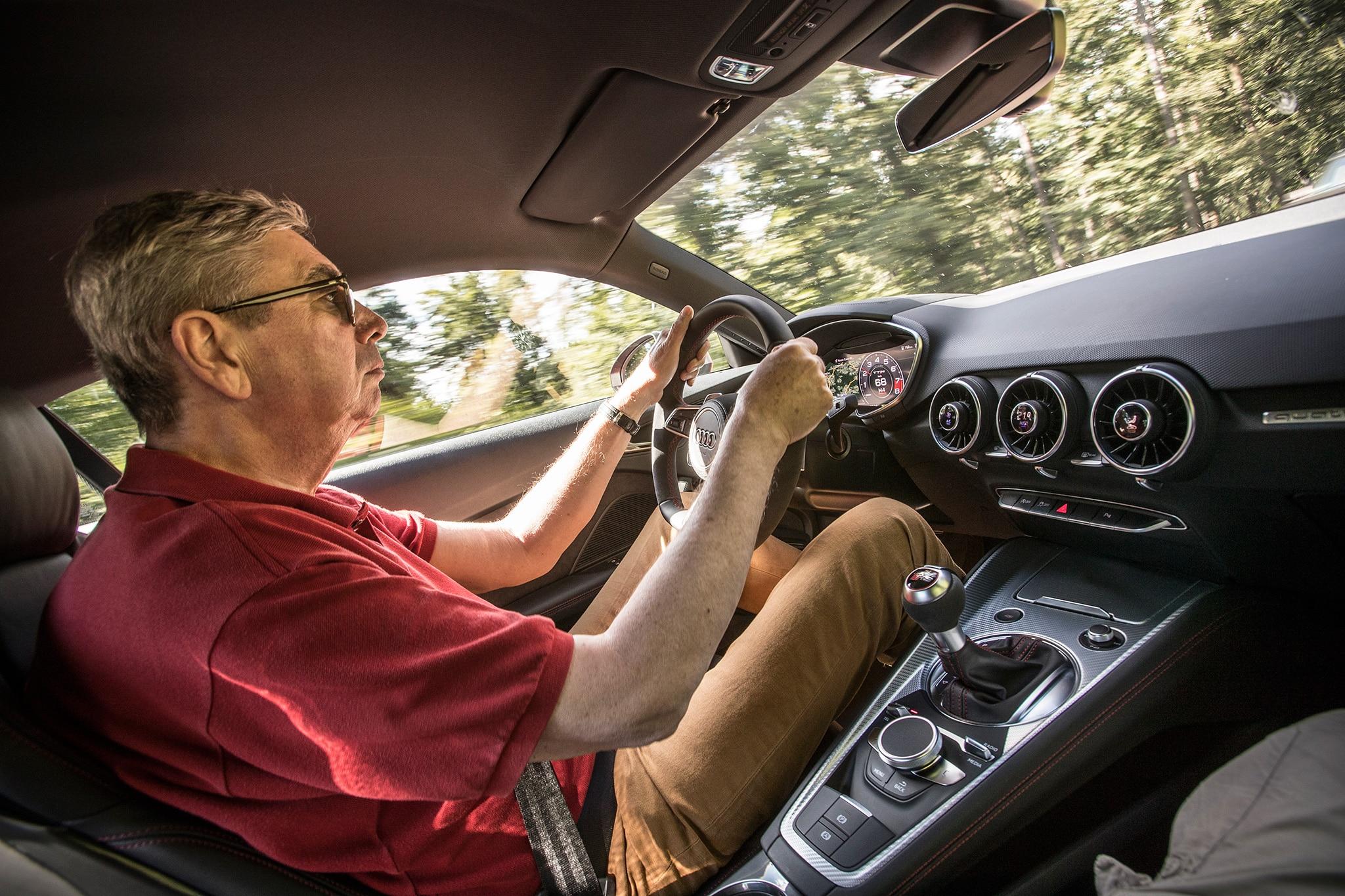 2018 Audi TT RS Georg Kacher Driving