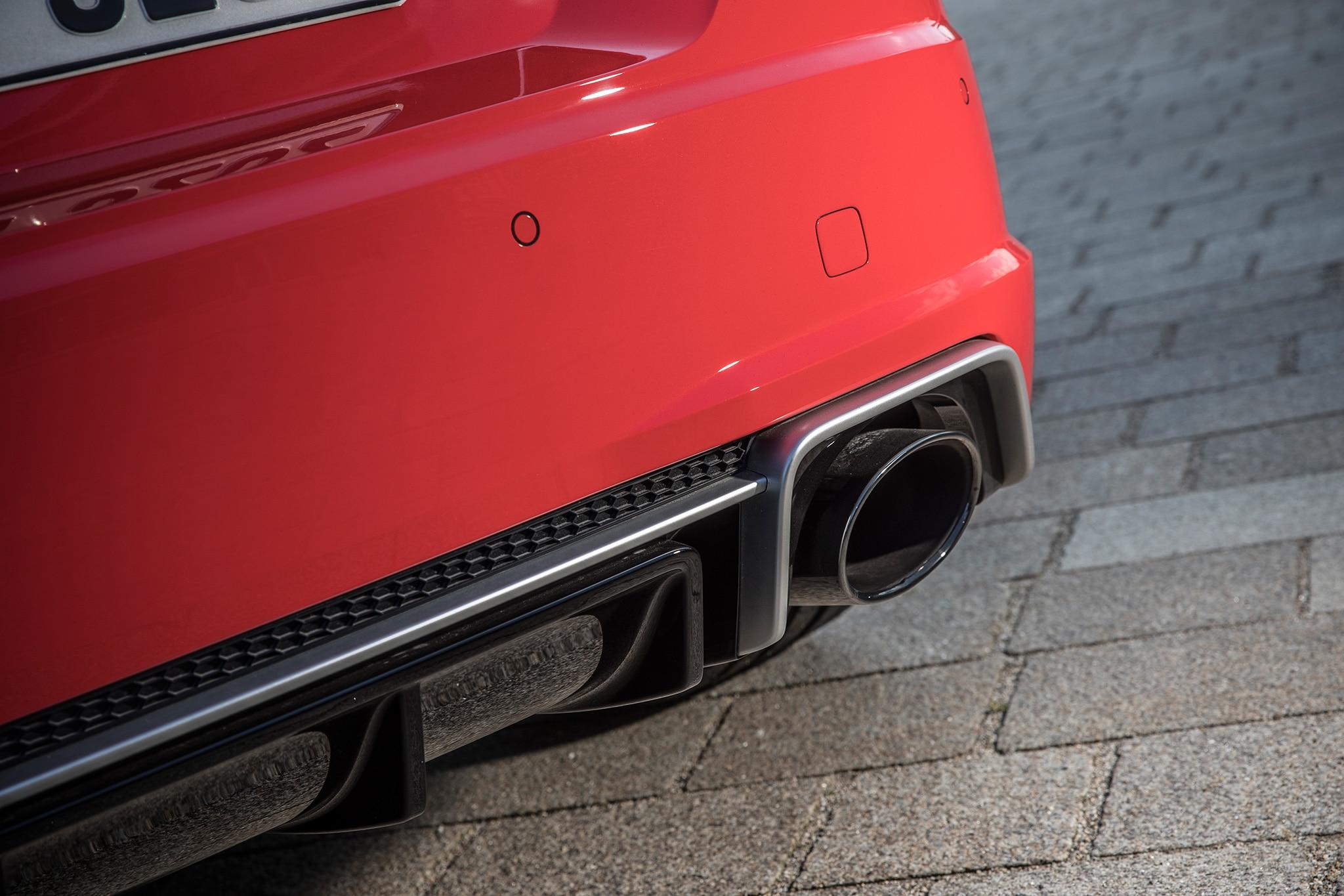 2018 Audi TT RS Exhaust