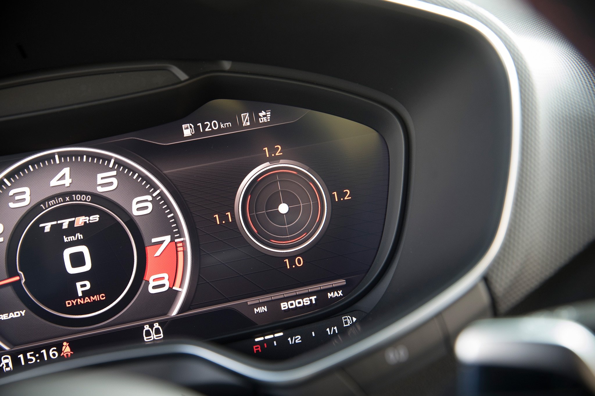 2018 Audi TT RS Instrument Panel 01