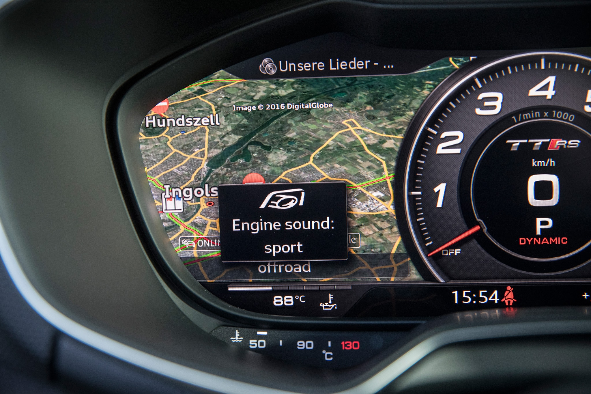 2018 Audi TT RS Instrument Panel 03
